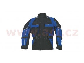 bunda Taslan, ROLEFF - Německo, dětská (černá/modrá)