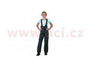 laclové kalhoty Taslan, ROLEFF - Německo, dětské (černé)