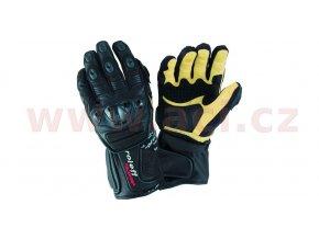 rukavice Le Mans, ROLEFF - Německo, pánské (černé)