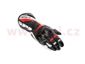 rukavice STS R, SPIDI - Itálie (černé/červené)