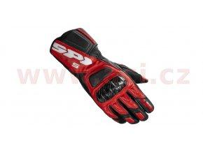 rukavice STR5, SPIDI - Itálie (červené/černé)