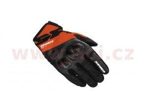 rukavice FLASH R EVO, SPIDI - Itálie (černé/oranžové)