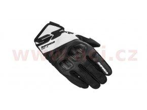 rukavice FLASH R EVO, SPIDI - Itálie (černé/bílé)