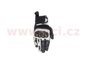 rukavice SP X AIR CARBON, ALPINESTARS - Itálie (černé/bílé)