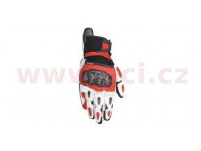 rukavice SP X AIR CARBON, ALPINESTARS - Itálie (černé/bílé/červené)