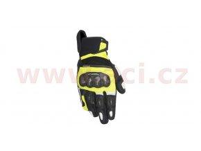 rukavice SP X AIR CARBON, ALPINESTARS - Itálie (černé/žluté fluo/bílé)