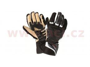 rukavice Sachsenring, ROLEFF - Německo, pánské (černé/šedé)