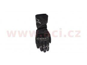 rukavice VEGA Drystar, ALPINESTARS - Itálie (černé)