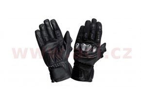 rukavice Bodensee, ROLEFF - Německo, pánské (černé)