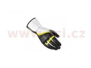 rukavice GRIP 2, SPIDI - Itálie, dámské (černé/bílé/žluté fluo)