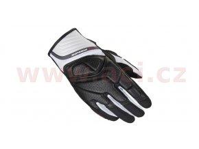 rukavice S4 LADY, SPIDI - Itálie, dámské (černé/bílé)