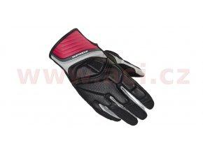 rukavice S4 LADY, SPIDI - Itálie, dámské (černé/fialové)
