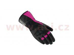 rukavice VOYAGER H2OUT LADY, SPIDI - Itálie, dámské (černé/fialové)