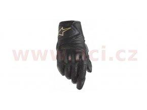 rukavice STELLA BAIKA, ALPINESTARS - Itálie, dámské (černé/zlaté)