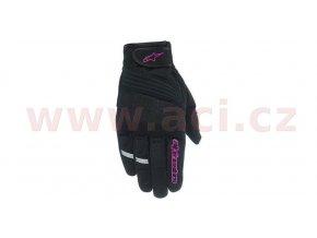 rukavice STELLA ASAMA AIR, ALPINESTARS - Itálie, dámské (černé/fialové)