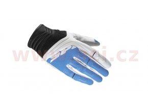 rukavice MEGA-X, SPIDI - Itálie, dámské (bílá/modrá)