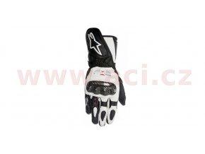 rukavice SP-1, ALPINESTARS - Itálie, dámské (bílé/černé)