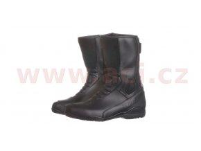 boty Touring Raw Leather, KORE (černé)