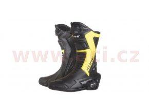 boty Sport, KORE (černé/žluté fluo)