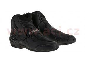 boty SMX-1 R, ALPINESTARS - Itálie (černé)