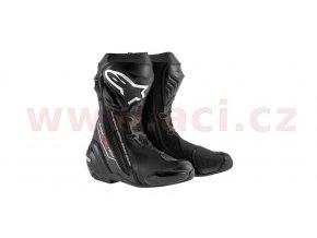 boty Supertech R, ALPINESTARS - Itálie (černé)