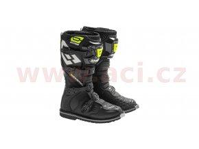 boty EM10, EMERZE (černé/žluté fluo)
