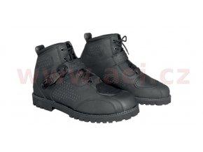boty Icone, KORE (černé)