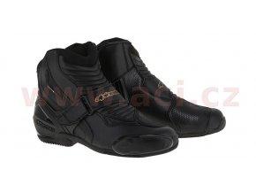 boty STELLA SMX-1 R, ALPINESTARS - Itálie (černé/zlaté)