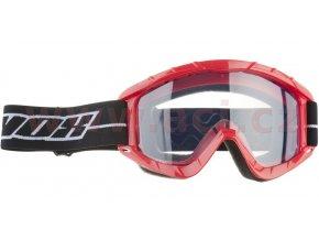 brýle N1 Adult, NOX - Francie (červené)