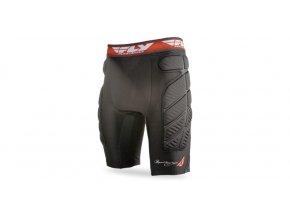 ochrané kompresní šortky, FLY RACING - USA (černá/červená)