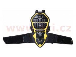 páteřový chránič BACK WARRIOR 160/170, SPIDI - Itálie (černý/žlutý)