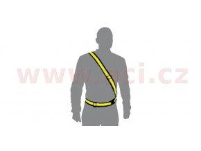 reflexní pás ramenní, OXFORD - Anglie (žlutá fluo)
