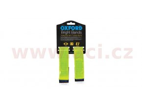 reflexní pásky Bright Bands na suchý zip, OXFORD - Anglie (žlutá fluo, pár)