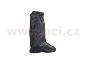 návleky na boty s reflexním prvkem a podrážkou, NOX - Francie (černá)