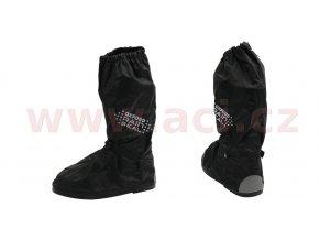 návleky na boty RAIN SEAL s reflexními prvky a podrážkou, OXFORD - Anglie (černá)
