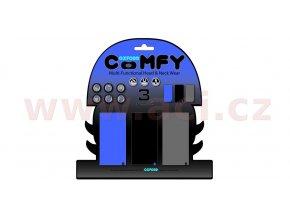 nákrčníky Comfy jednobarevné, OXFORD - Anglie (sada modrý/černý/šedý, 1ks od barvy)