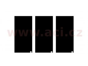 nákrčníky Comfy All Black, OXFORD - Anglie (sada 3ks, černé)