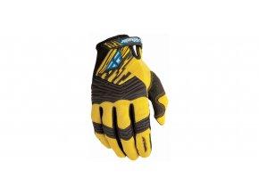 rukavice FLY F-16 2010 - FLY RACING - USA (žlutá/černá)