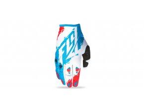 rukavice KINETIC 2017, FLY RACING - USA (červená/bílá/modrá)