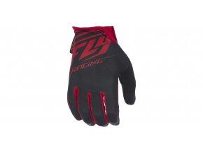 rukavice Media, FLY RACING - USA (černá/červená)
