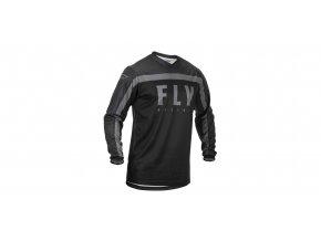 dres F-16 2020, FLY RACING - USA (černá/šedá)