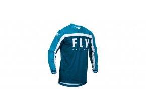 dres F-16 2020, FLY RACING - USA (modrá/bílá)
