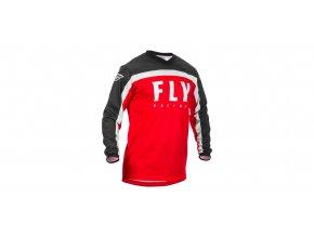 dres F-16 2020, FLY RACING - USA (červená/černá/bílá)