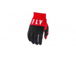 rukavice F-16 2020, FLY RACING - USA (červená/černá/bílá)
