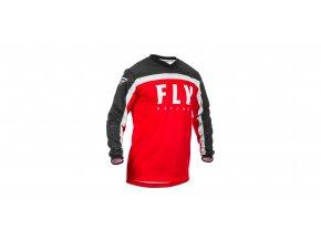 dres F-16 2020, FLY RACING - USA dětská (červená/černá/bílá)