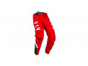 kalhoty F-16, FLY RACING - USA (červená/černá/bílá)