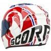Moto přilba SCORPION EXO-1200 AIR STINGER bílo/červeno/modrá