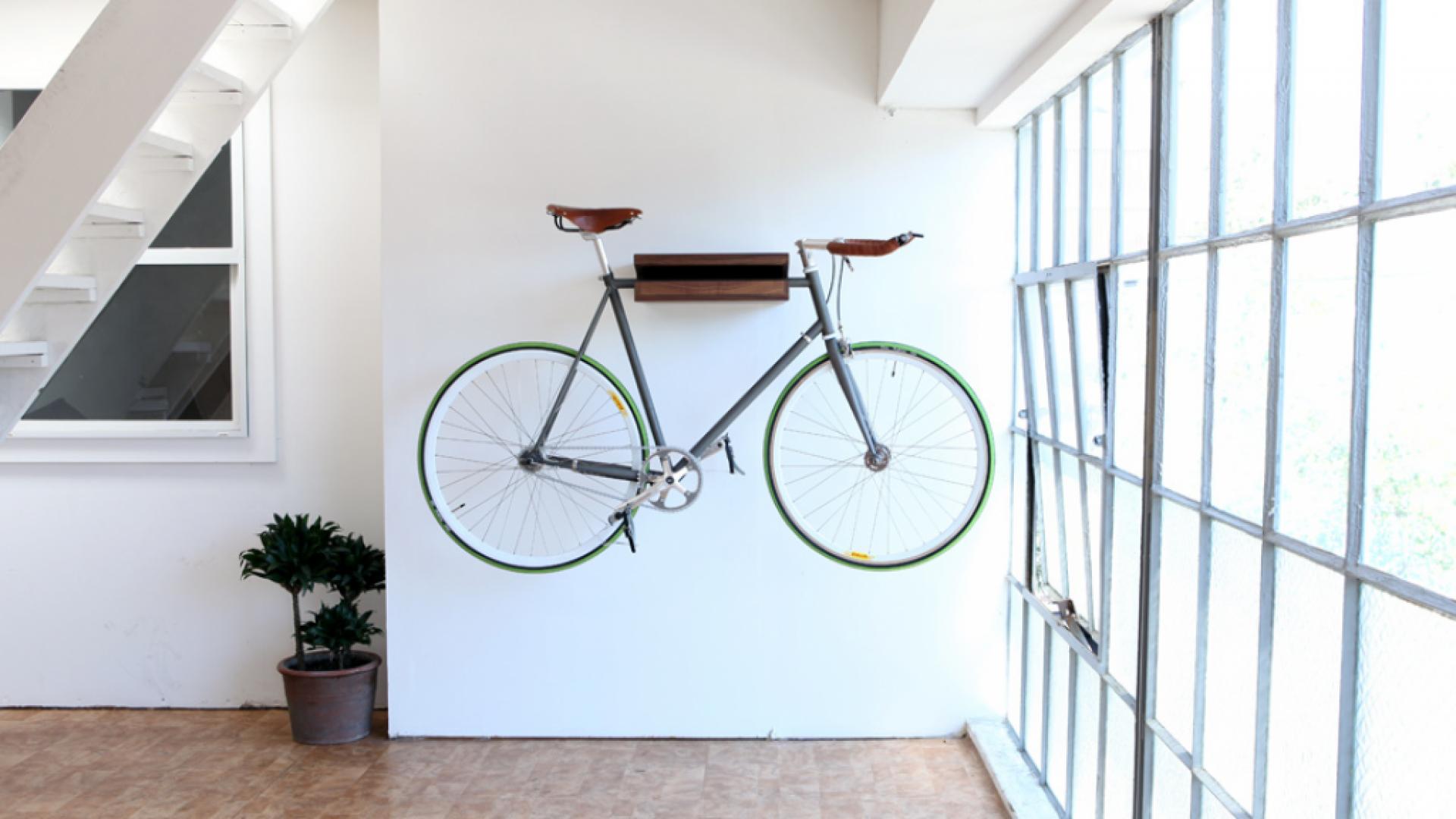 Spôsoby uskladnenia bicyklov doma alebo v práci