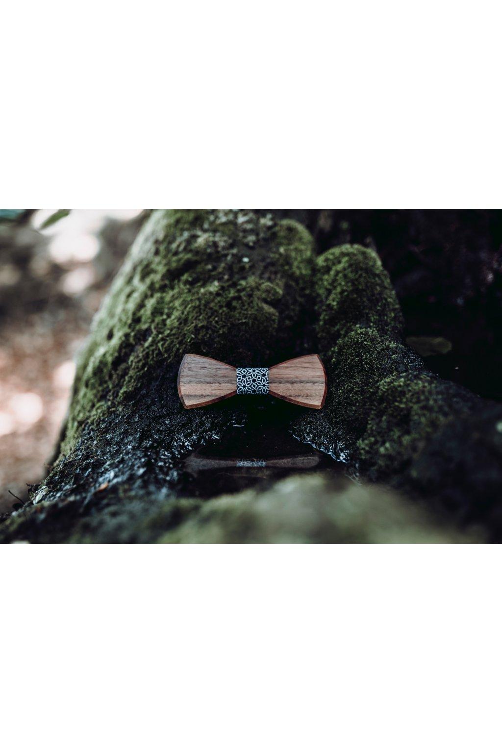 Pánský motýlek Hardy - Americký ořech