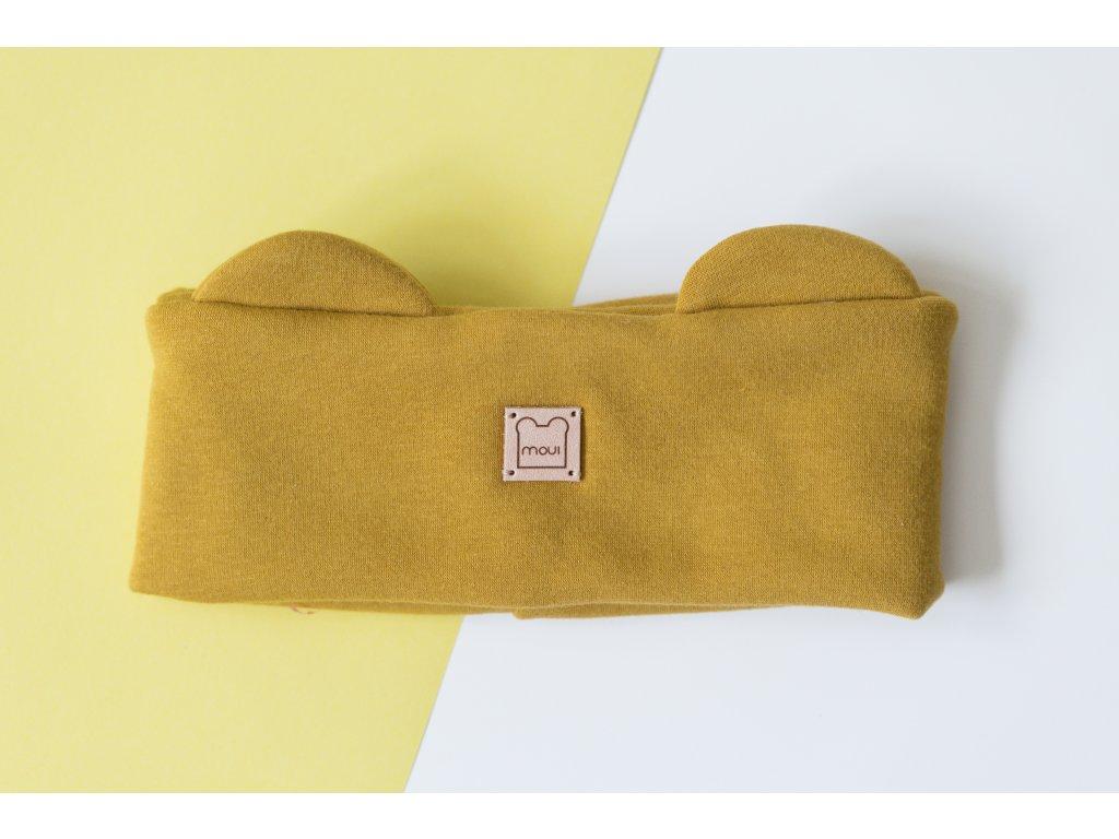 Žltá čelenka Moui (Warmkeeper)